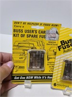 Collection of Buss fuses