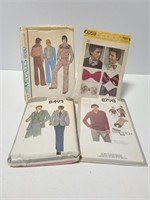 Vintage mens clothing patterns
