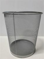 Mesh metal waste bin