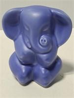 Venice Clay blue elephant figure