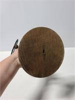 Wood 3-ring kitchen towel rack