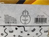 Big Mouth giant sized pinapple beach blanket, new
