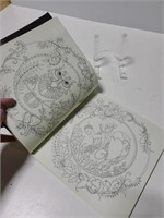 Enchanted Forest stress relief coloring book