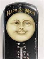 Metal harvest moon thermometer