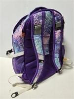 High Sierra purple print backpack