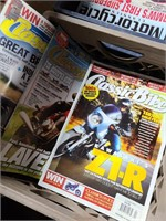 Large collection of Motorcycle magazines