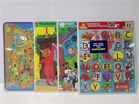 New sealed vintage childrens puzzles