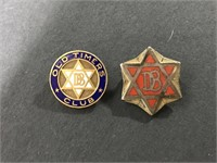 DB Dodge Old Timers Club lapel hat pins
