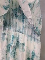 Mossiano xxl coral reef print dress New w/ tags