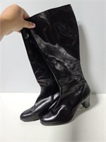 Two pairs of size 10 knee high boots