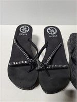 Guess and Michael Kors chunky sandals