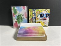Lot of new greeting cards & envelopes
