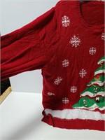Christmas tree ugly sweater