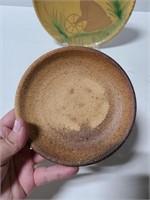 Three pottery pieces