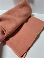 Two 100% wool blankets