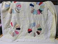 Vintage handsewn quilt