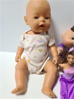 Baby Born, Cabbage Patch, Barbie, & Beanie Baby