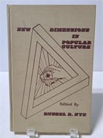 New Dimensions in popular culture hardcover book