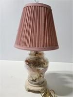 Glass shell lamp