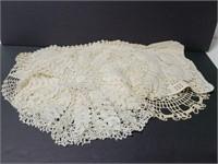 Vintage crochet doilies collection
