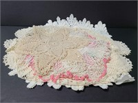 Vintage crochet doilies collection 2