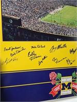 University of Michigan 1000th game poster