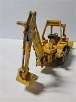 Vintage metal construction vehicle