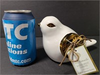 GC Naturals ceramic dove fragrance sachet