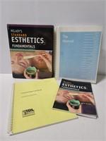 Cosmetology & Esthetics school books