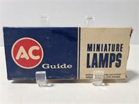 AC Guide miniature lamps
