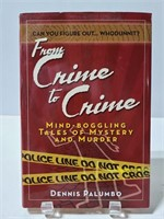 Fr9m Crime to Crome murder mystery book