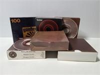 Vintage slide trays with slides