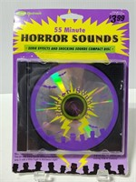 55 minutes of horror sounds CD new