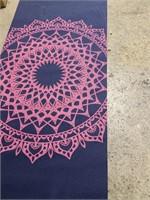 Gaiam mandala yoga mat