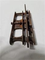 Antique saw sharpener