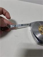 Vintage Evans 50ft. Steel tape measure