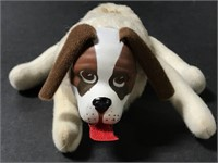 Small vintage small Velcro stuffed dog toy