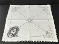 Set of 8 Peggy Wilkins cloth napkins