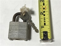 Assorted padlocks w/ keys