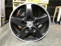 Set of 4 Porche Cayenne '12 black rims 20 inch
