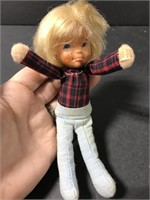 Three small 1975 Honey Hill Bunch Mattel dolls