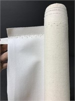 Roll of large blank art canvas