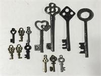 Replica skeleton keys for crafting