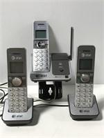 AT&T cordless phone set