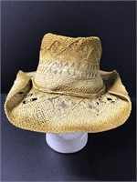 Clever Clover western style straw hat