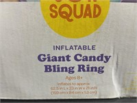 New Sun squad inflatable giant candy bling ring