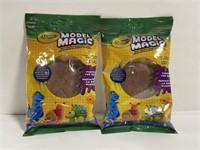 Lot of 2 new Crayola model magic dough