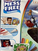New lion king mess free color wonder pack