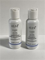 Lot of 2 Keune silver shampoo & conditioner