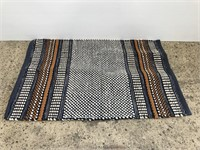 New GoodWeave wool & cotton entryway rug